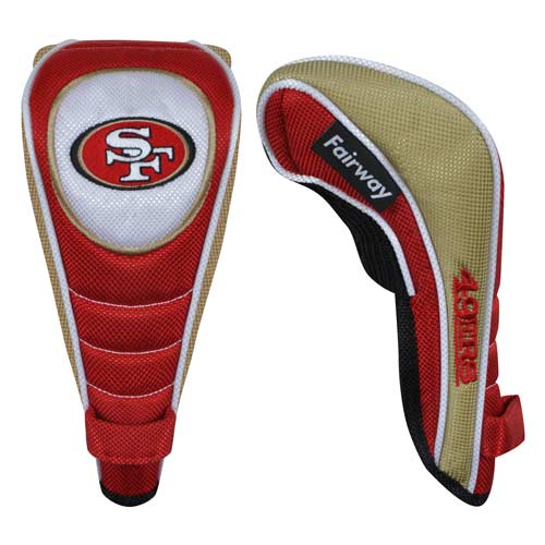 McArthur スポーツ NFL 49ers Fairway Headcovers