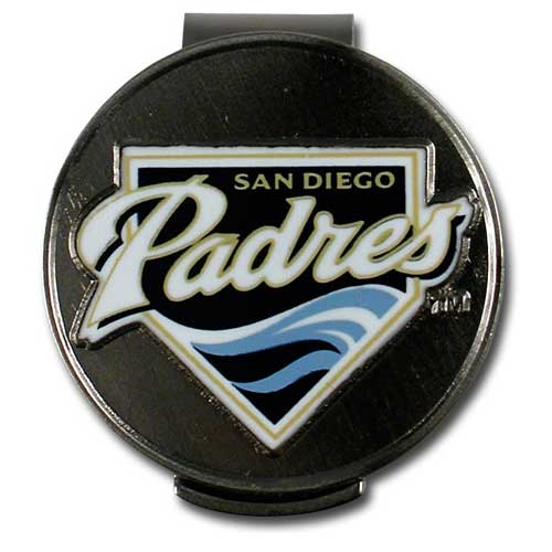 McArthur Sports MLB Padres Hat Clip and Ball Markers