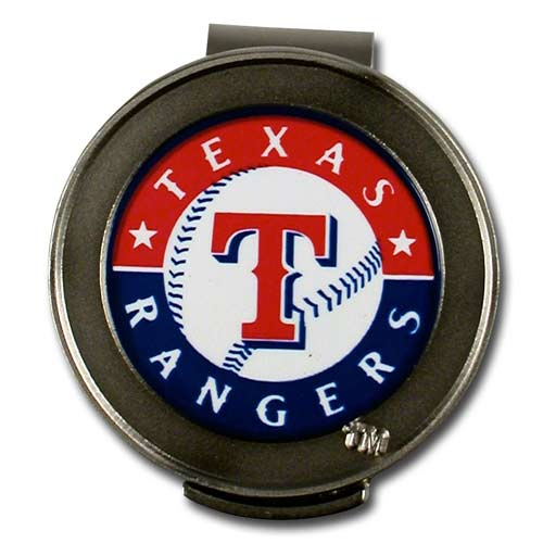 McArthur スポーツ MLB Rangers Hat Clip and Ball Markers