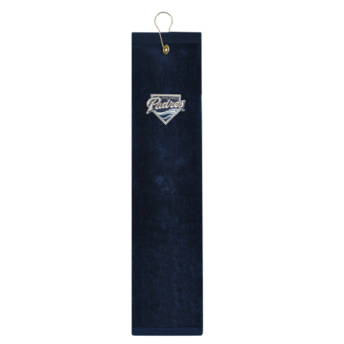 McArthur スポーツ MLB Padres Embroidered Tri-Fold Towels