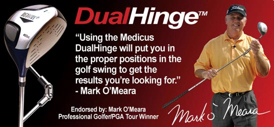 Medicus Dual Hinge Driver Trainers
