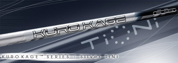 Kuro Kage Silver w/TiNi Wood Shafts