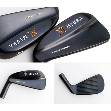 Miura Limited Forged Black Blade Irons