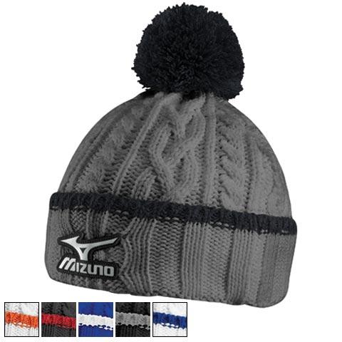 ミズノ ゴルフ Cable Knit Bobble Hats/ミズノゴルフケーブルニットボブル帽子【ゴルフ小物関連Mizuno(ミズノ)】/MZN0340/Mizuno(ミズノ)/激安クラブ USAから直送【フェアウェイゴルフインク】