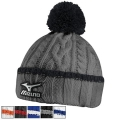 Mizuno Cable Knit Bobble Hats
