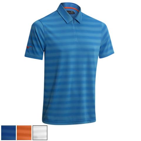 ミズノ ゴルフ Texture Zip Polo Shirts (#250184)/ミズノゴルフテクスチャジップポロシャツ(#250184)【ゴルフウェアMizuno(ミズノ)】/MZN0409/Mizuno(ミズノ)/激安クラブ USAから直送【フェアウェイゴルフインク】