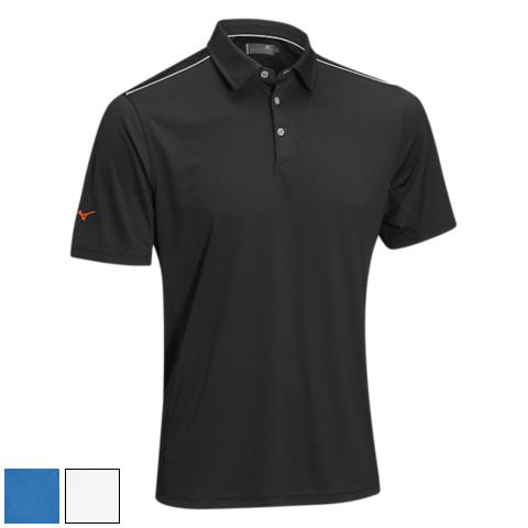 ミズノ ゴルフ Flat Knit Self Collar Polo Shirts (#250186)/ミズノゴルフフラットニットセルフ襟ポロシャツ(#250186)【ゴルフウェアMizuno(ミズノ)】/MZN0410/Mizuno(ミズノ)/激安クラブ USAから直送【フェアウェイゴルフインク】
