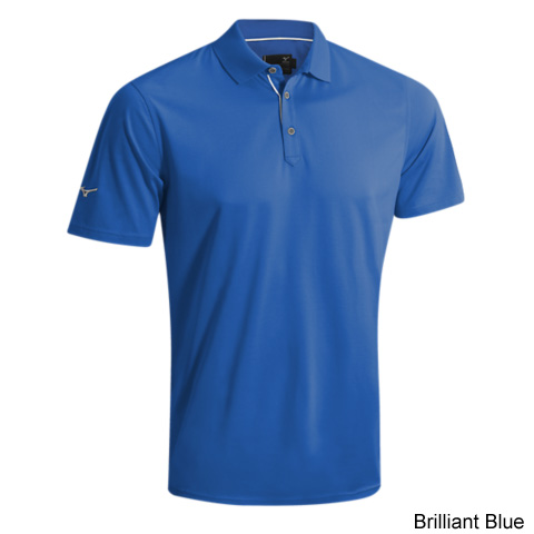 Mizuno Flat Knit Cotton Polo Shirts (#250188)