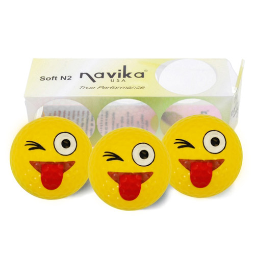 Navika Ladies Emoji Golf Ball Set