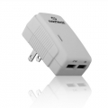 Naztech International Dual USB AC Chargers 3.1A