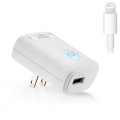 Naztech 2.1A Lightning 8 pin Travel Charger