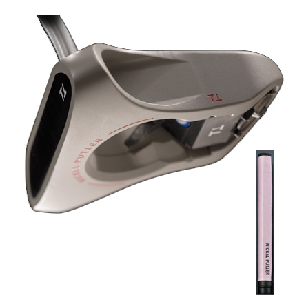 Nickel Putter No.1 Putters w/Pink Grip
