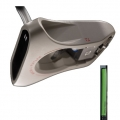 Nickel Putter No.1 Putters w/Green Grip