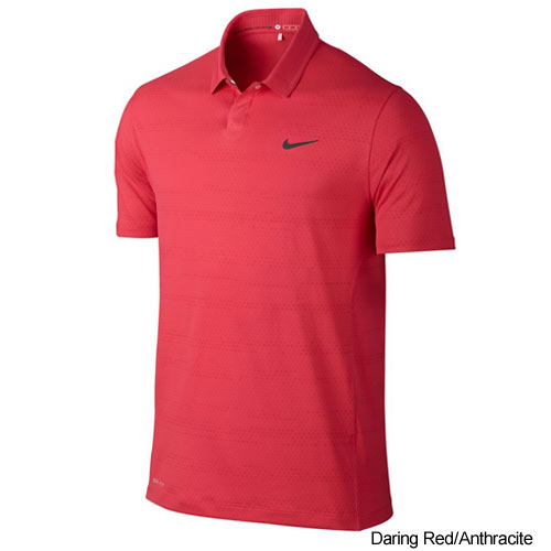 Nike TW Air Flow Jacqard Golf Polo Shirts