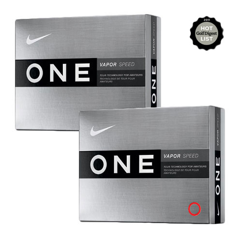 Nike One Vapor Speed Golf Balls (2 dozen)