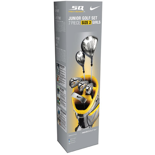 NikeGolf Girls SQ Machspeed Size2 Jr Sets
