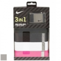 Nike Women's 3-in-1 Web Pack Belts
