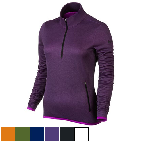 Nike Ladies Thermal 1/2 Zip Tops