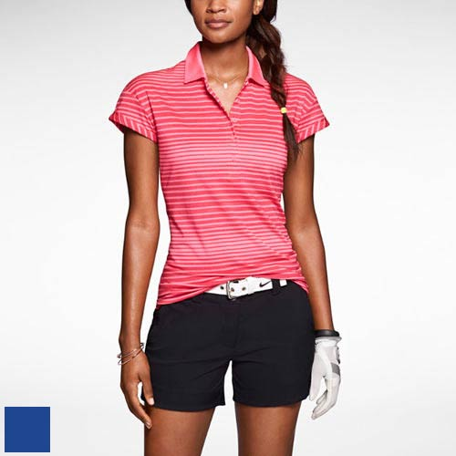 Nike Ladies Sport Novelty Polo Shirts