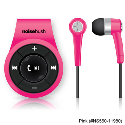 NoiseHush NS560 Clip on Bluetooth Stereo Headsets
