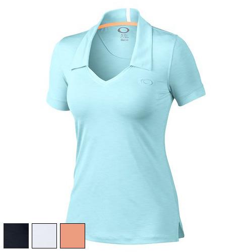 オークリー Ladies Short Sleeve Morgan Polo Shirts