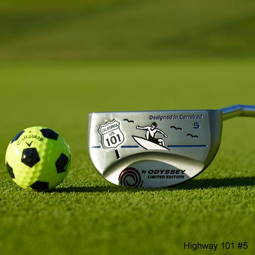 Odyssey Limited Edition Highway 101 Putter