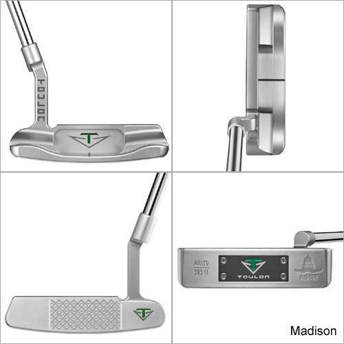 Odyssey Toulon Design Standard Weight Putter