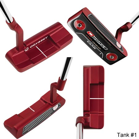 Odyssey O-Works Red LE Putter