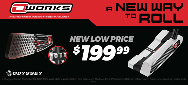 O-WORKS 2017 PRICE DROP