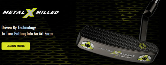 Odyssey Metal X Milled Putters