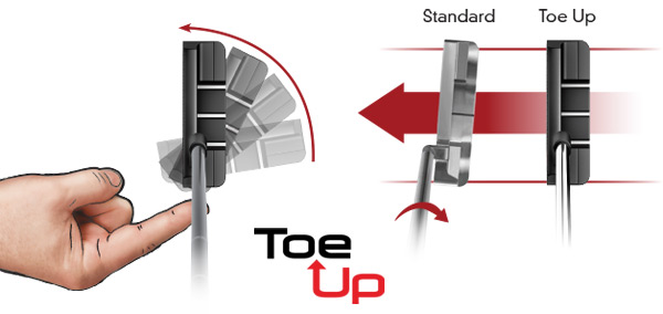Odyssey Toe Up Putter