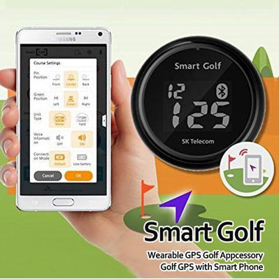 Smart Golf DOT Magnetic GPS Hat Clip