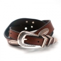 Western Latigo Leather Belt