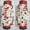 noisy noisy by Mieko Uesako Original Fruit Pattern Caddie Bag