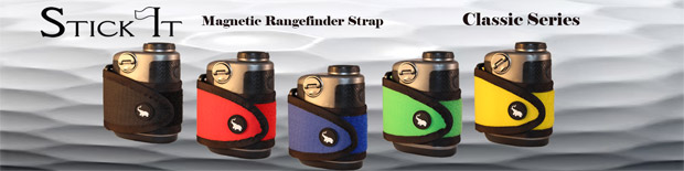 Stick It Magnetic Classic Series Rangefinder Strap