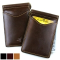 Palm West Leather Money Clip