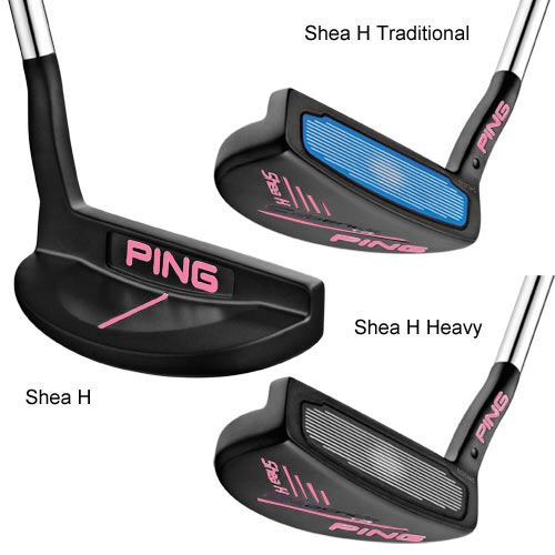 PING Cadence TR Putters w/Pink Paint