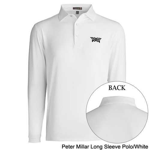 PXG Peter Millar Long Sleeve Poloシャツ