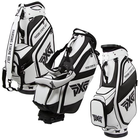 PXG Black & White Golf Bags