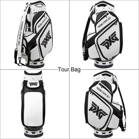 PXGゴルフ ブラック&ホワイト ツアーバッグ - PXG Black & White Tour Bags