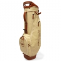 Peter Millar Canvas Leather Crown Seal Golf Bag