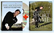 Phil Mickelson: Secrets of the Short Game 2-DVD Set plus 208-pag
