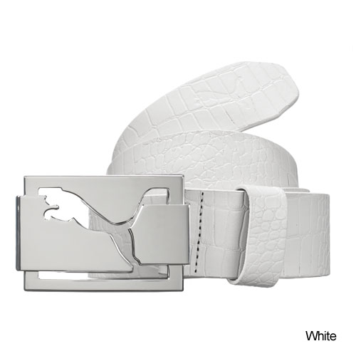 Puma High Shine Croco Belts (#PMG03017)
