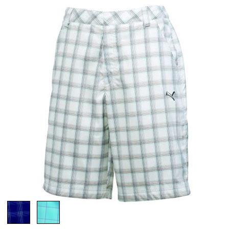 プーマ ゴルフ Golf Plaid Tech Shorts (#562654)