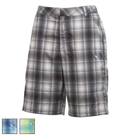 プーマ ゴルフ Golf Ombre Plaid Tech Shorts (#562655)