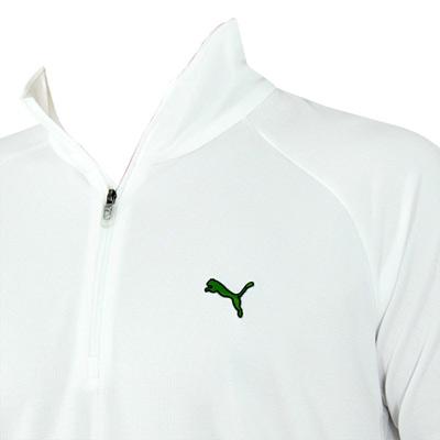 Puma Half-Zip Long Sleeve Golf Shirts (#555624)