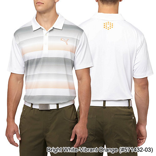 Puma Road Map Golf Polo Shirt