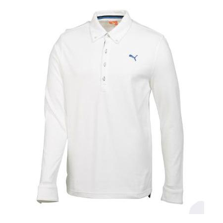 Puma Golf TransDRY Long-Sleeve Polo Shirts (#558045)