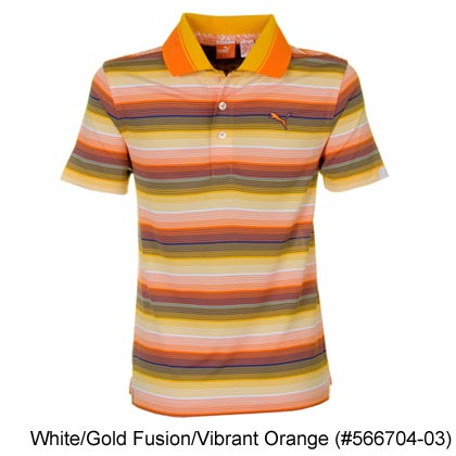 Puma Junior Roadmap Stripe Polo Shirts