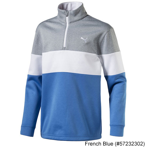 Puma Juniors PWRWARM 1/4 Zip Golf Popover